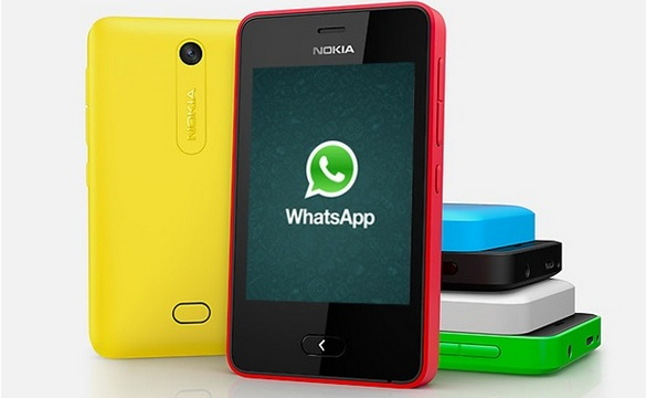nokia s whatsapp